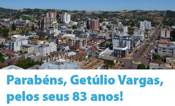 GETÚLIO VARGAS 83 ANOS