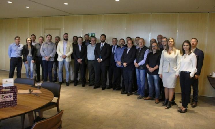 Getúlio Vargas presente no encontro do Fórum de Secretários  Municipais de Desenvolvimento Econômico do RS