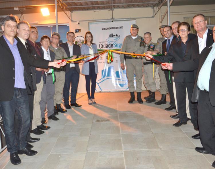 Inaugurado o Sistema de Videomonitoramentoda Cidade de Getúlio Vargas