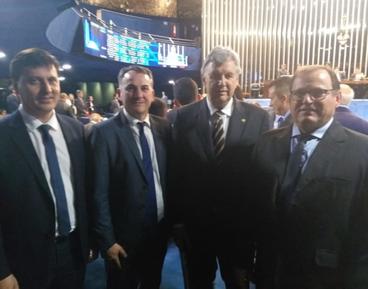 Prefeito de Getúlio Vargas em Brasília busca recursos para o município