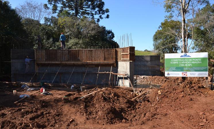 Mais obras estão sendo realizadas em Getúlio Vargaspara melhorar a qualidade de vida da população