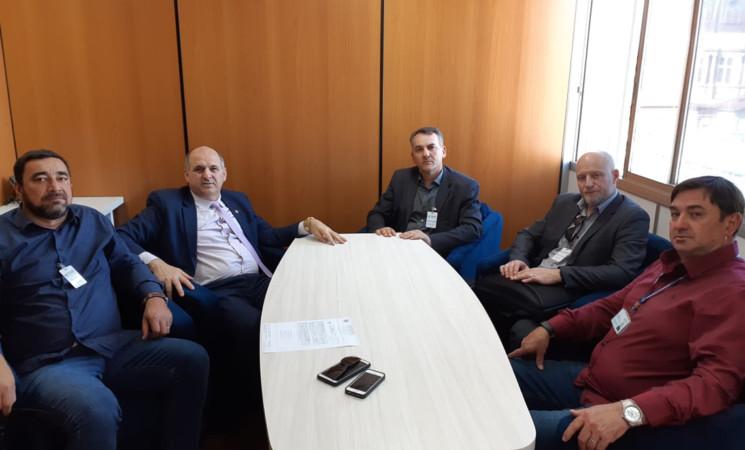 Prefeito de Getúlio Vargas, Mauricio Soligo, cumpre agenda em Porto Alegre