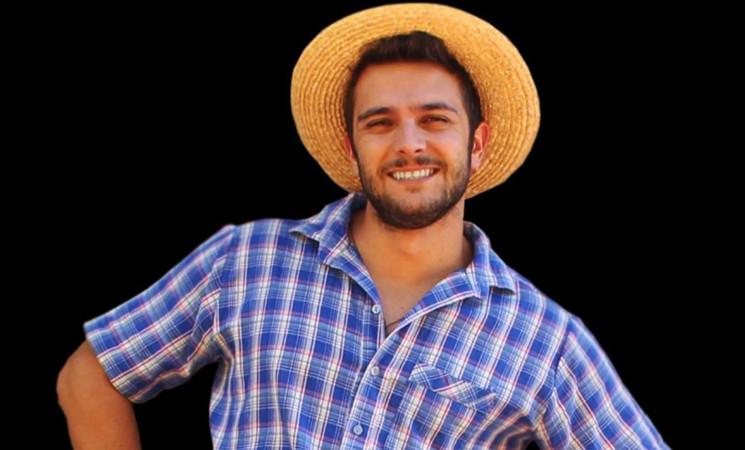 Badin, o Colono, se apresenta na Expo Getúlio Vargas 2019