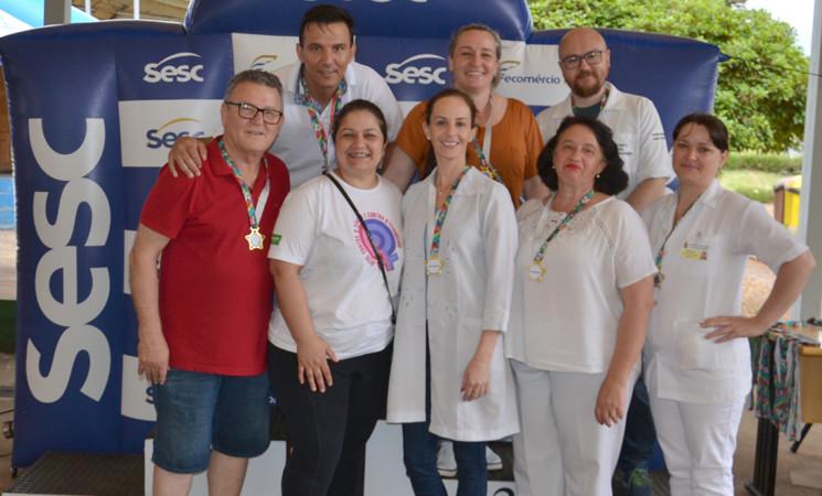 Equipe da Secretaria Municipal de Saúde trabalhou na 5ª Rústica de Getúlio Vargas