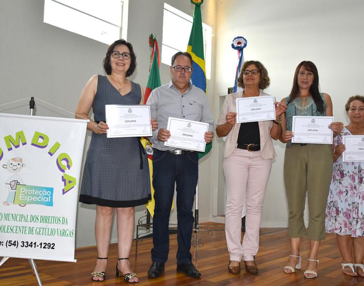 Empossados os novos Conselheiros Tutelares de Getúlio Vargas Gestão 2020-2024