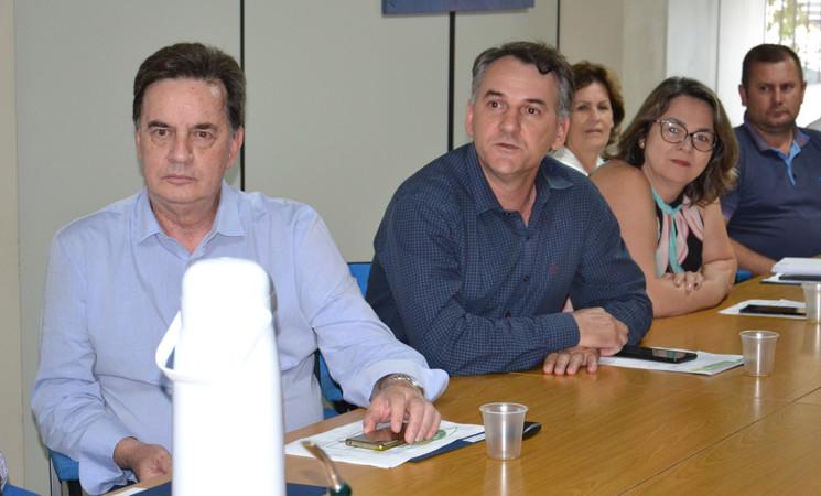 Prefeito Soligo participa da eleição da Amau