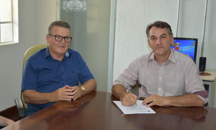 Vice-prefeito Elgido Pasa assume a prefeitura durante férias do prefeito Mauricio Soligo
