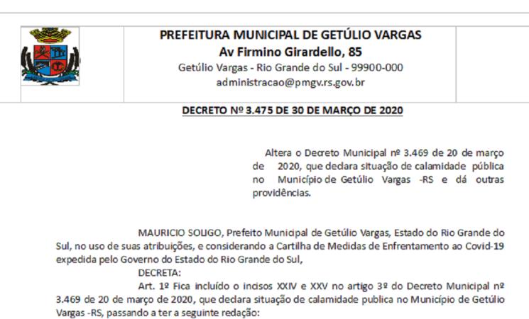 Decreto 3475 altera decreto 3469 alterações estabelecimentos igrejas