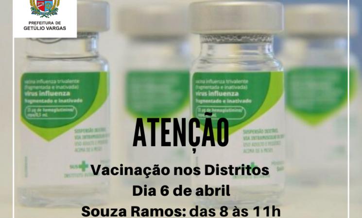 Campanha de Vacinação contra a Gripe 2020 nos distritos