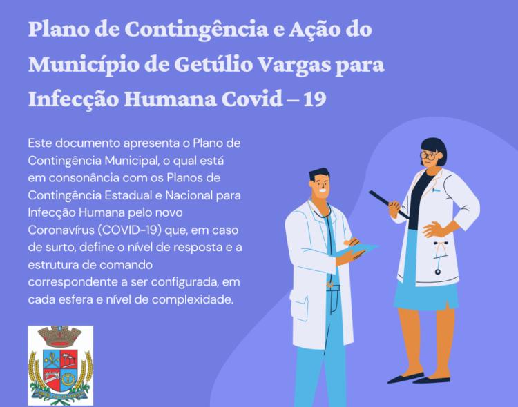 Plano de Contingência e Ação do Município de Getúlio Vargas para Infecção Humana Covid – 19