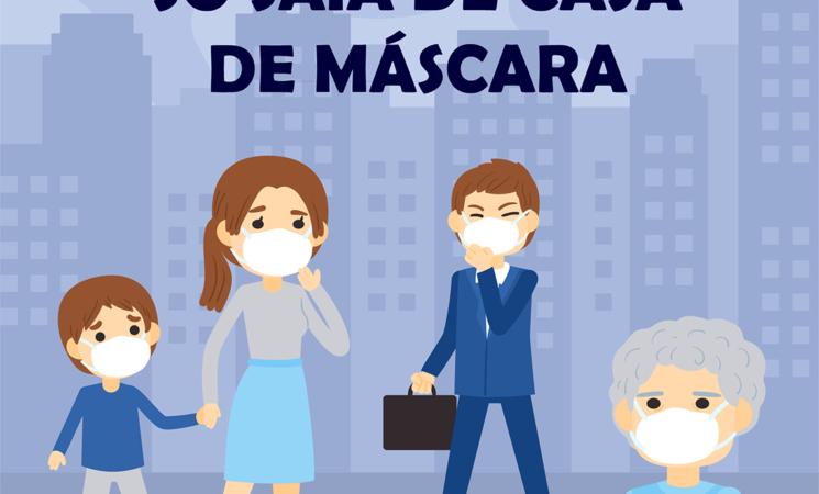 Getúlio Vargas estabelece multa para quem não usar máscara e desrespeitar o horário de funcionamento do comércio