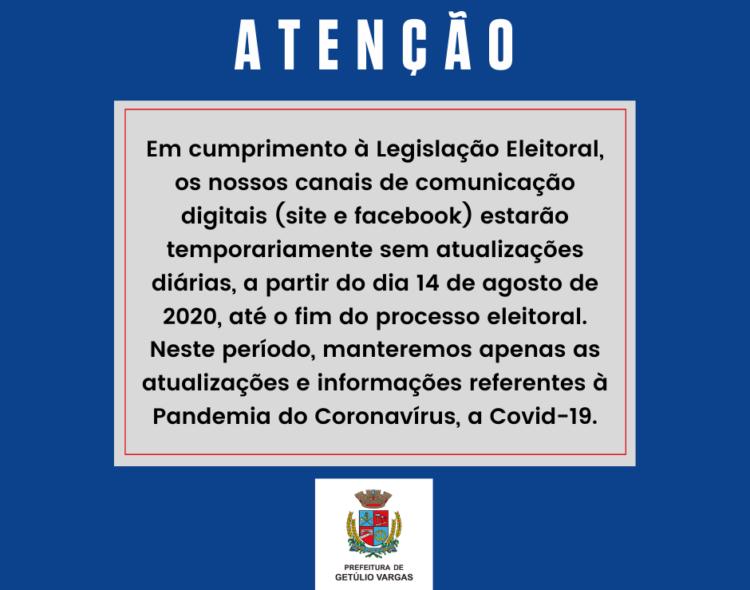 Atenção Getúlio Vargas