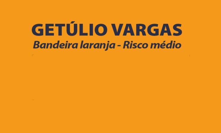 Governo Municipal define aplicação do protocolo de Bandeira Final Laranja em Getúlio Vargas
