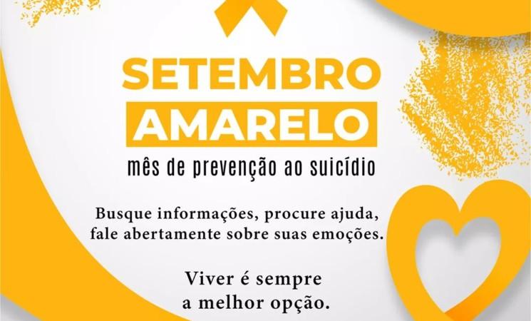Setembro Amarelo: CRAS Getúlio Vargas alerta sobre o suicídio