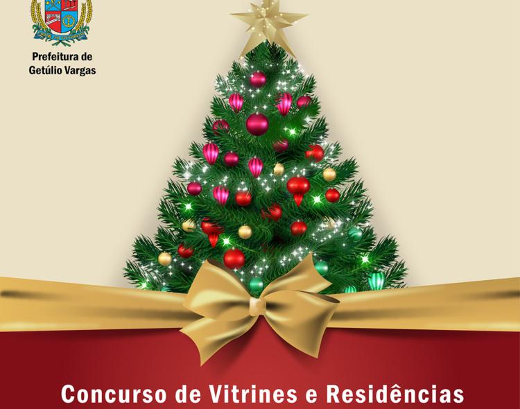 """Inscrições para o Concurso de Vitrines e Residências""""Natal Espírito que Contagia"""" encerram dia 11 de dezembro"""