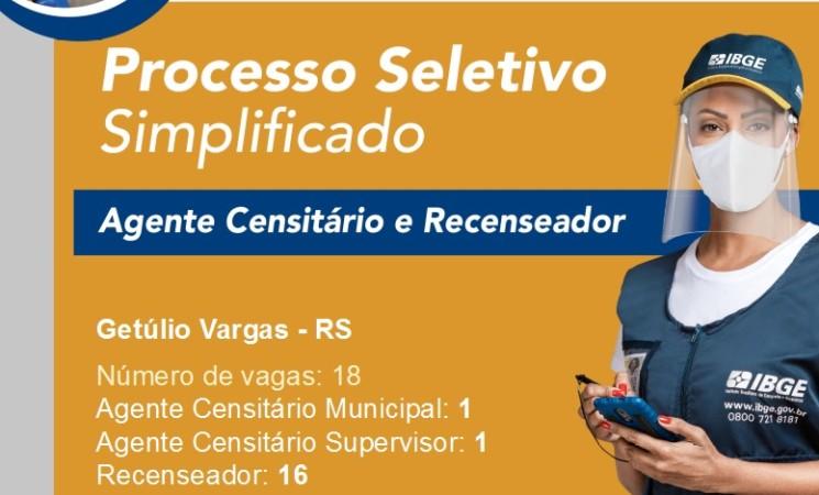 IBGE vai contratar mais de 200 mil pessoas para trabalhar no Censo 2021