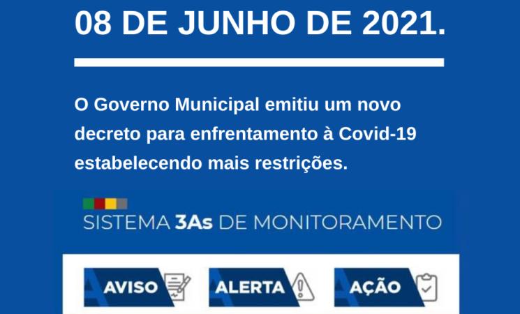 Editado no Decreto: DECRETO Nº 3.626 DE 08 DE JUNHO DE 2021.