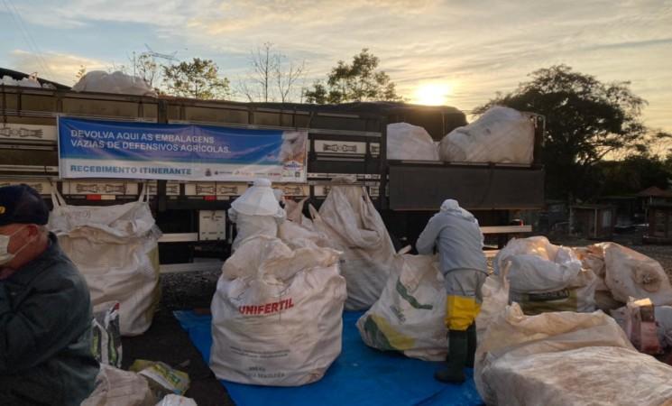 Iniciou nesta quarta-feira, 23, a Campanha de Recolhimento de Embalagens de Defensivos Agrícolas
