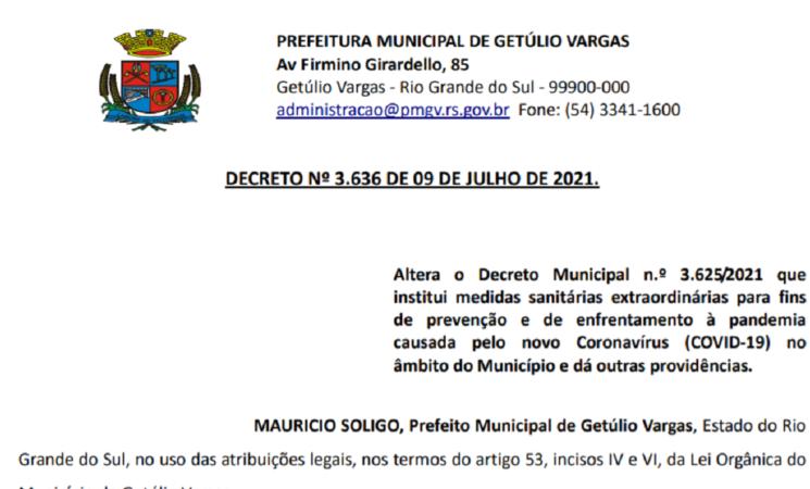 Decreto 3.636  COVID - 19
