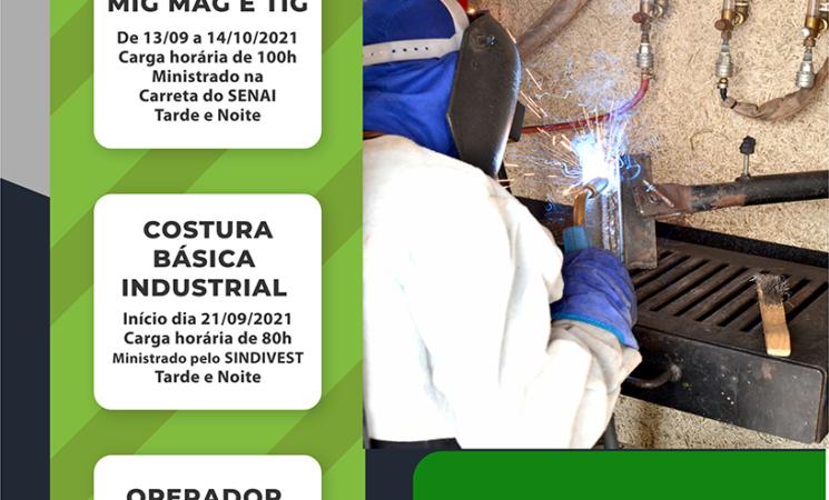 Prefeitura de Getúlio Vargas abre inscrições para cursos profissionalizantes