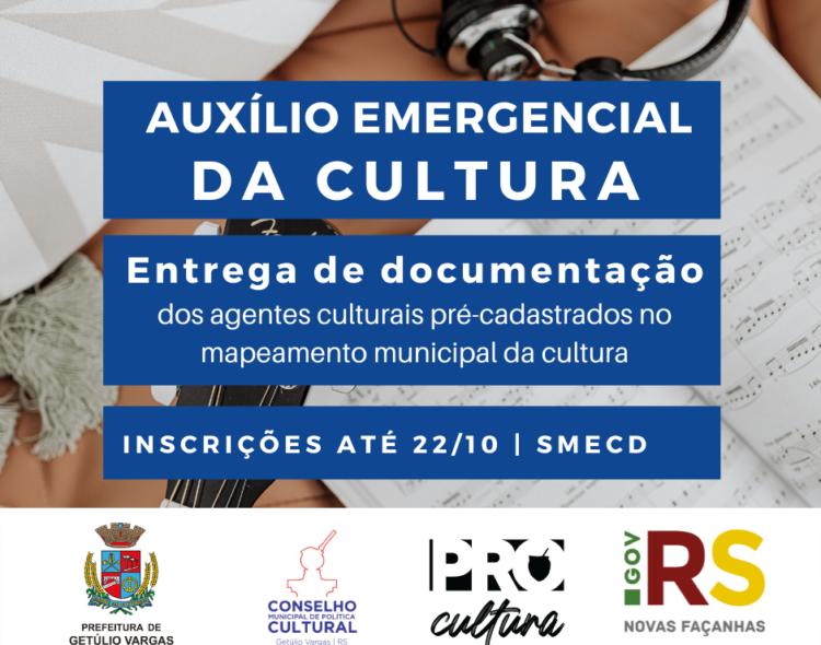 Auxílio Emergencial da Cultural de Getúlio Vargas