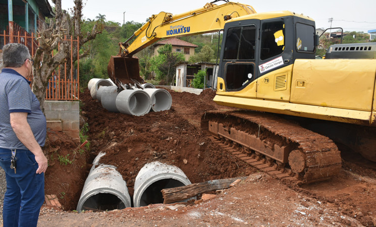 Obras seguem no município de Getúlio Vargas