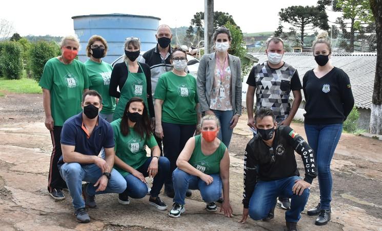 Projeto Brasil Sem Frestas de Getúlio Vargas firma parceria com o Presídio Estadual