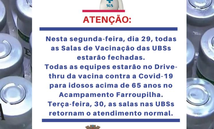 Vacinação nas UBSs