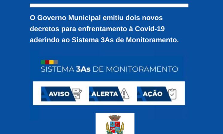 Prefeitura de Getúlio Vargas emite dois novos decretospara enfrentamento à pandemia da Covid-19