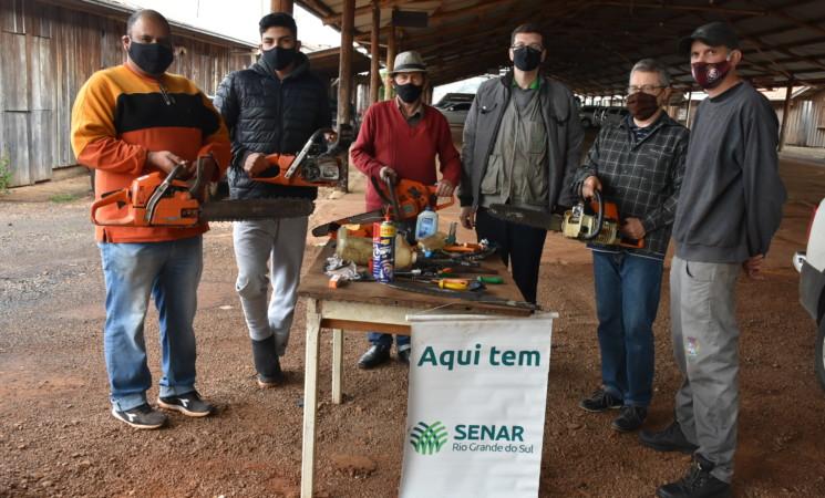 Governo de Getúlio Vargas promove Cursode Operação e Manutenção de Motosserra
