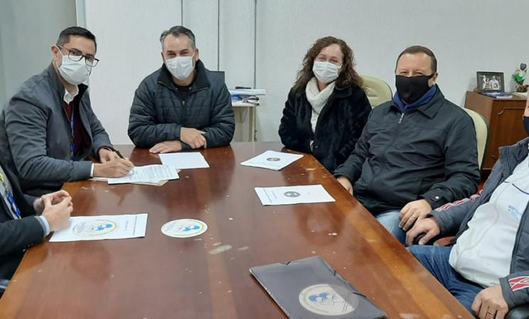 Renovado convênio entre Prefeitura de Getúlio Vargas e Programa AABB Comunidade